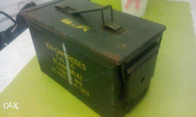 Sprzedam skrzynke na amunicje.szczelana idealna na replikę.