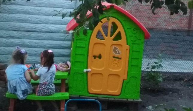 Домик игровой, домик пластиковый, детский домик