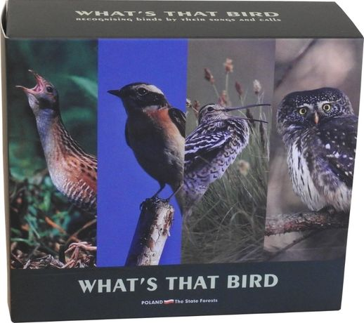"""Zestaw płyt """"Co to za ptak"""""""