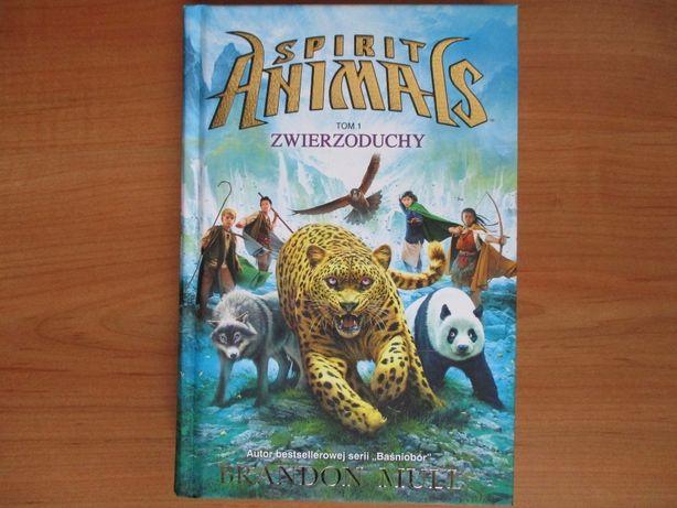 książka Spirit Animals Zwierzoduchy