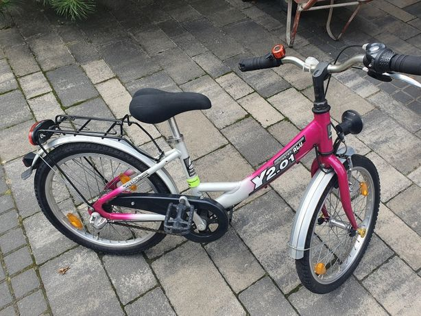 Rower PEGASUS - koła 20, Youngster rama aluminiowa piękny