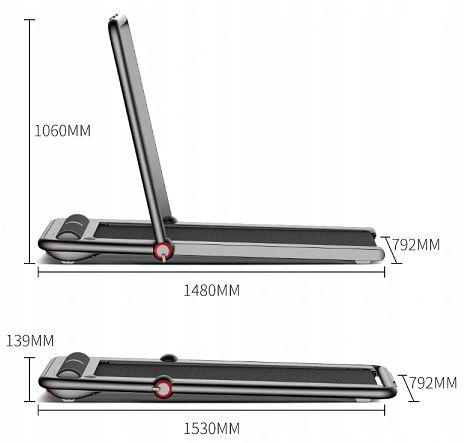 nowa bieżnia elektryczna TRK12F Xiaomi KingSmith K12 - 12km/h