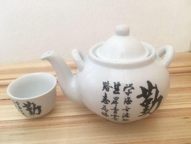 Набір набор китайський сервіз оригінальний заварник чайник і чашка