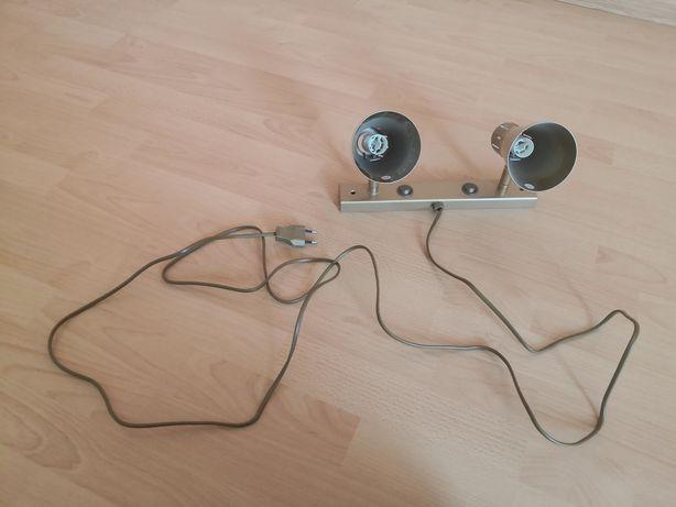 Світильник приліжковий на дві лампочки