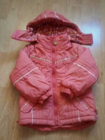 Kurtka zimowa dla dziewczynki rozmiar 92-98