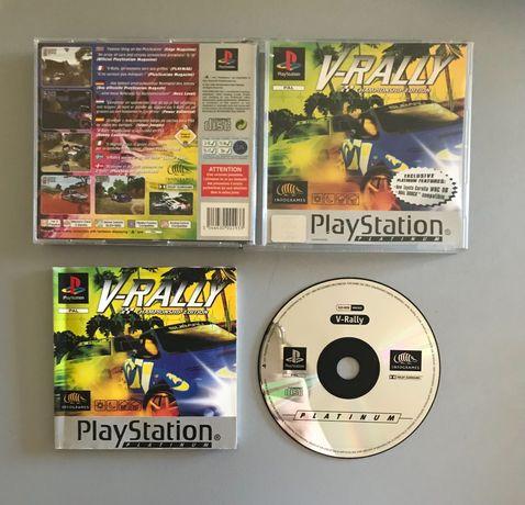 V-rally - ps1 - Completo