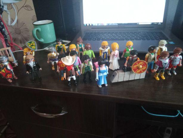 Geobra Playmobil человечки 21 штука , цена за все