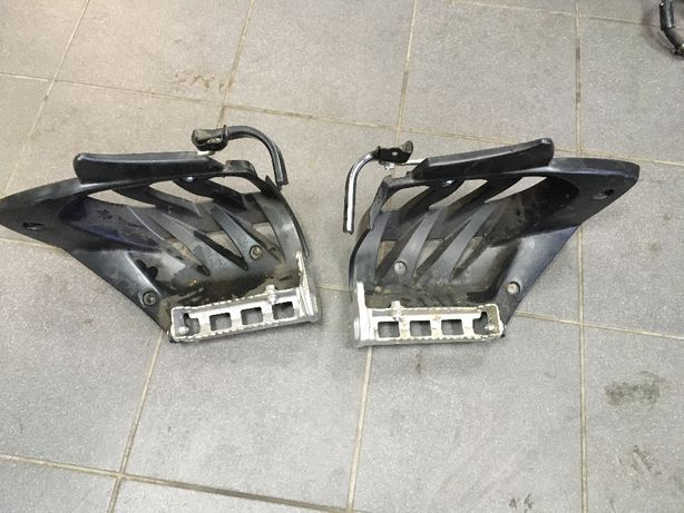 Zapiętki Yamaha YFZ Quad osłony nóg podnóżki