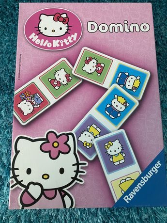 Domino Hello Kitty Ravensburger NOWA