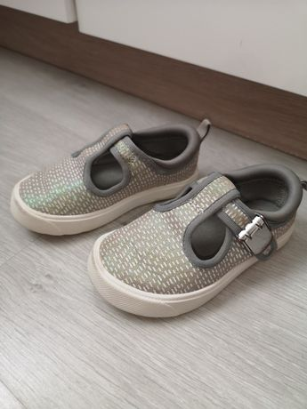 CLARKS r. 22 śliczne trampki tenisówki buty wkładka 14cm
