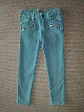 ZARA j. NOWE Spodnie jeansowe 3-4latka ZARA