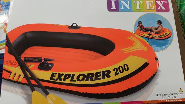 Лодка півторамісна, витримує до 95 кг!