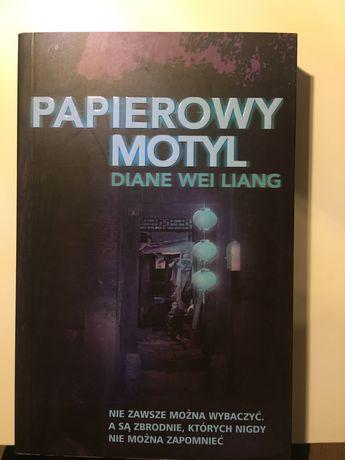 """Diane Wei Liang """"Papierowy motyl"""""""