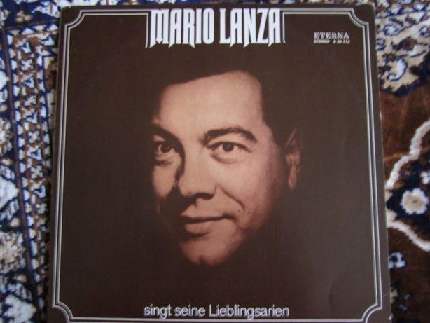 Пластинка Марио Ланца
