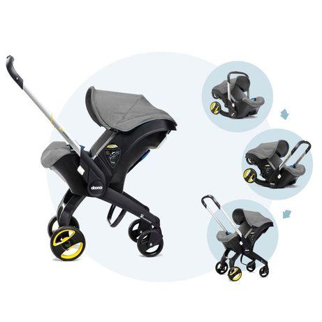 Cadeira Auto & Carrinho de Bebé - 2 em 1 - Doona - MUITO PRÁTICA!