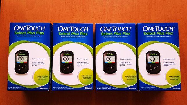 One Touch Select Plus Flex Glukometr + Paski i Opaska Gratis ! Nowy