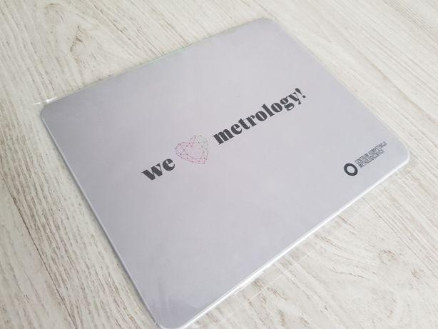 """Podkładka pod mysz """"We love metrology"""""""