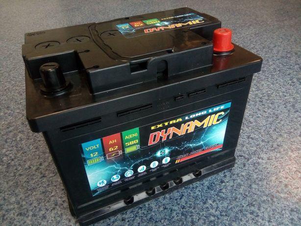 Akumulator DYNAMIC 62Ah 580A Jaslo
