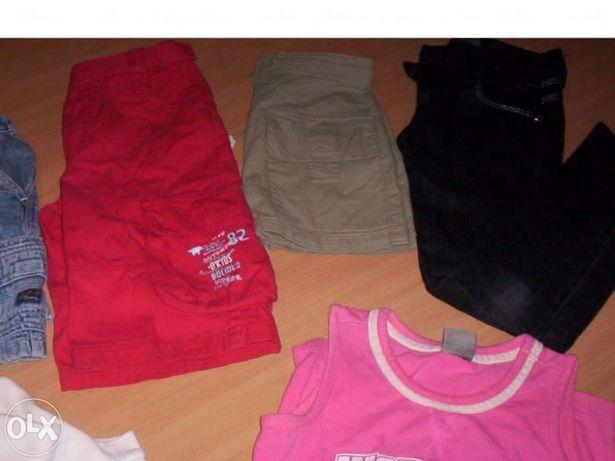 Lote roupa menina 6 anos