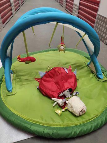 Mata do zabawy, stojak z zabawkami dla dzieci IKEA