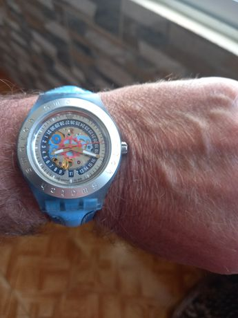 Relógio swatch automático impecável