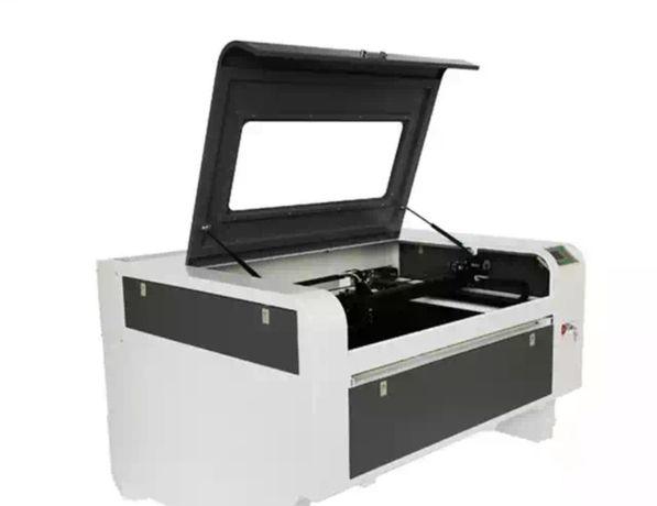 Лазерный станок СО2 гравер 1080 100 Вт RUIDA квадратные направляющие