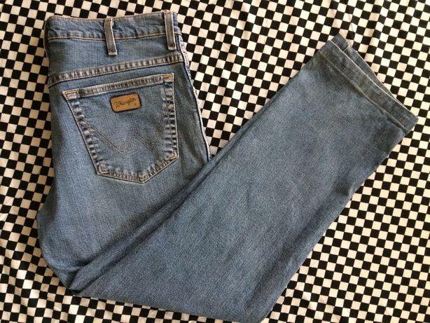WRANGLER Texas Stretch spodnie jeansowe r.34/34 100% oryginalne