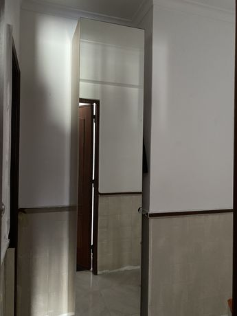 Roupeiro do Ikea- Armario e Porta Vikedal (espelho)