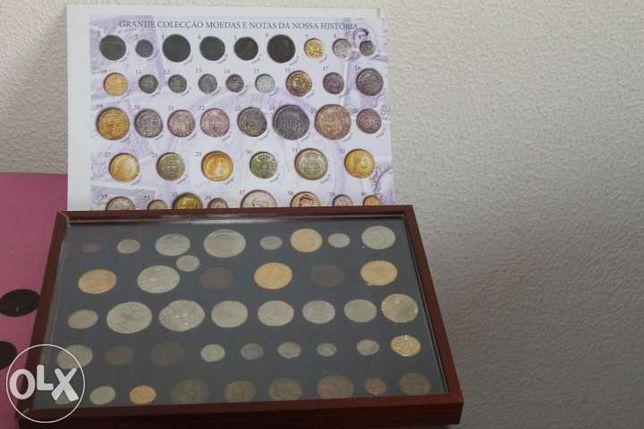 vendo coleção de moedas spécimen de portuguesas antigas rara e única.