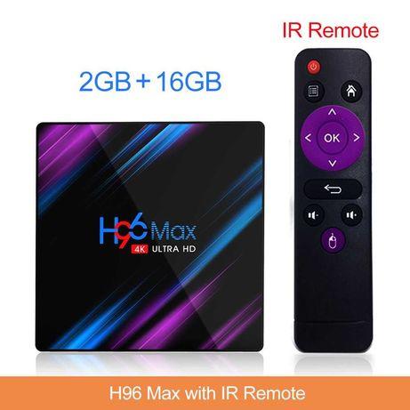 [NOVO] Box Android TV Smart 4K - Caixa Android TVBox para ver Netflix