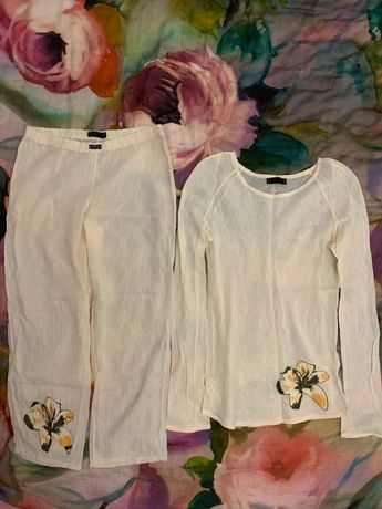 Новая Krasnova укр.дизайнер р.S хлопковая пижама,одежда для дома,белье