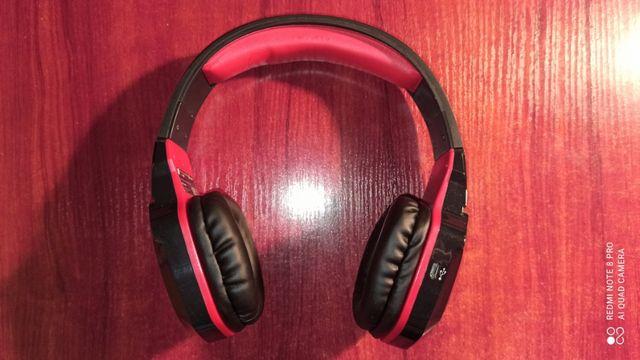 Gamingowe Słuchawki bezprzewodowe Tracer Tomcat BT Bluetooth Stan Bdb-