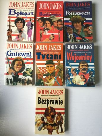John Jakes Kronika rodziny Kentów tomy 1-7