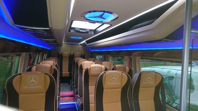 Wynajem Busa z kierowcą 6,7,8,20 osobowego/przewóz osób/ autobus