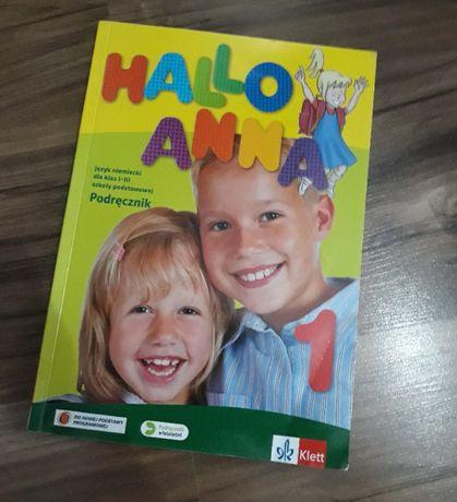 HALLO ANNA I - Podręcznik do języka niemieckiego Używany Klasa I