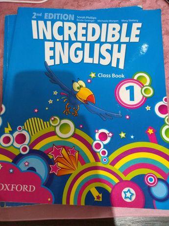 Sprzedam książkę do j angielskiego Incredible english