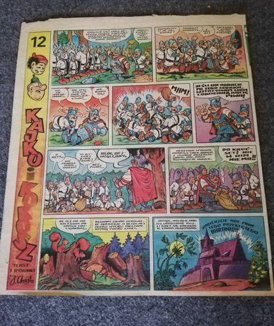 komiksy ze świata młodych - prl 9kart