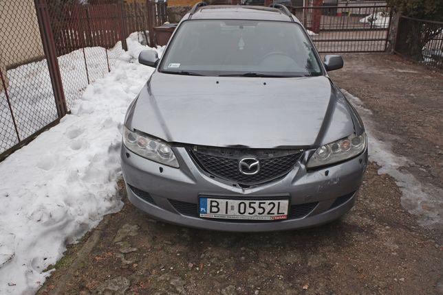 Mazda 6 2.0 DID diesel 2003 przebieg 266 tyś
