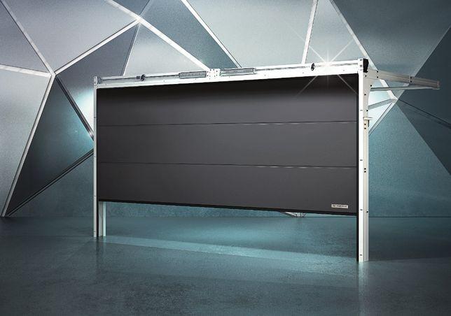 Brama Segmentowa Garażowa Uchylna Przemysłowa Panelowa Drzwi Okna
