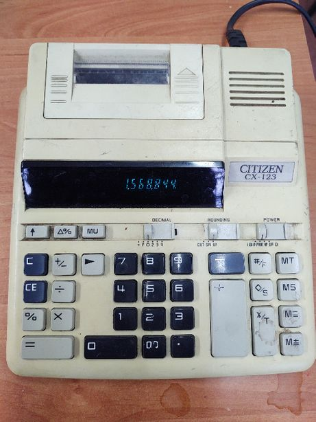 kalkulator citizen cx 123