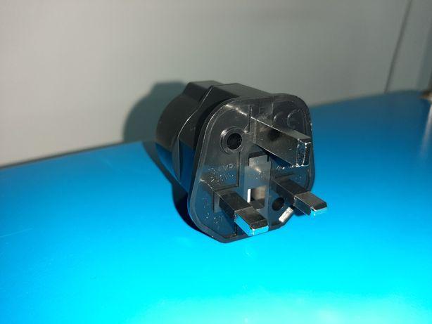 Adapter przejsciówka anglia UK wtyku zasilania sieciowgo 230V