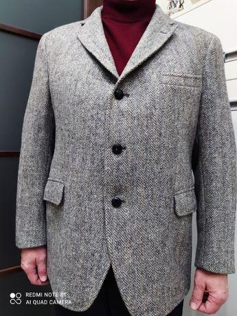 Пиджак Harris Tweed. Шерсть 100% pure scottish wool. Ручная работа.