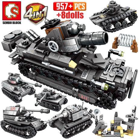 Czołg klocki z LEGO kompatybilne 956 szt.