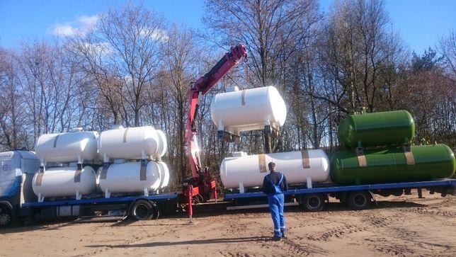 Zbiornik na gaz instalacje gazowe