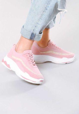 Rózowe Sneakersy My Manifesto roz.35
