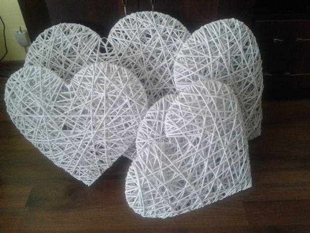 Serce z wikliny papierowej 50 cm