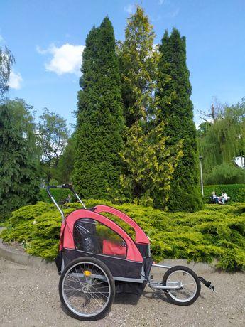 Przyczepka rowerowa riksza wózek rowerowy do roweru