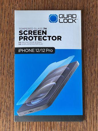 Quadlock szkło hartowane na ekran iPhone 12 i 12 Pro