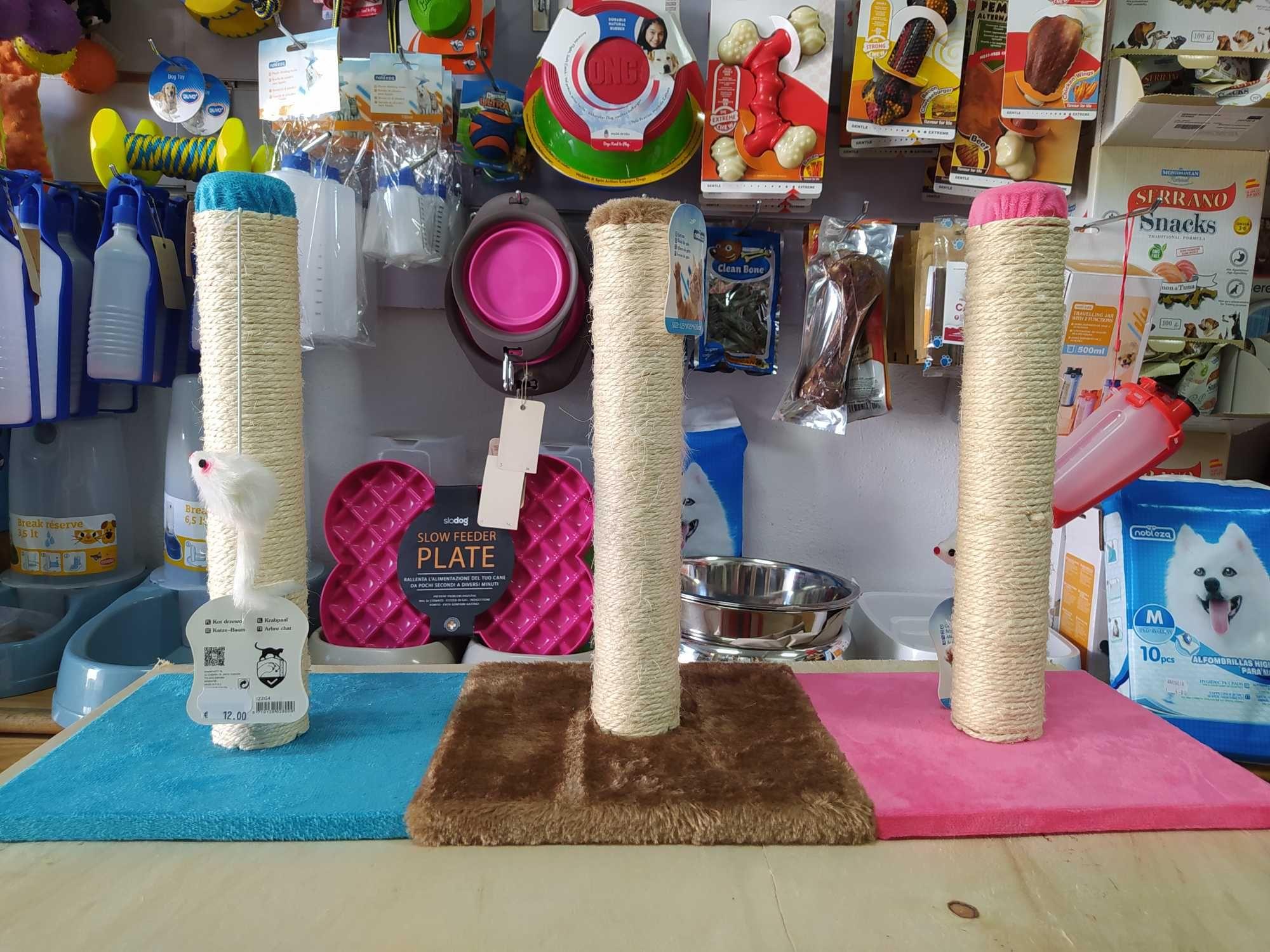 Arranhador simples Gatos - Novo 42cm
