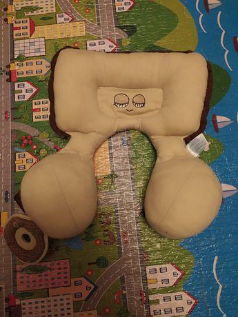 Подушка подголовник опора в автокресло коляску